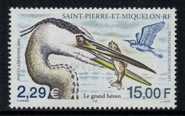 St.Pierre Et Miquelon // 2001 //  Poste Aérienne No.81 Y&T  Timbres Neufs ** MNH (sans Charnière) - Poste Aérienne