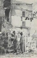 Tremblement De Terre Du 11 Juin 1909: Lambesc, Soldats Du Génie Faisant Les Fouilles - Edition P. Ruat - Rampen