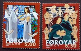 Faroe Islands  2001   MiNr.412-13   MNH (**)   ( Lot F 1749 ) - Féroé (Iles)