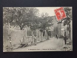 CPA BARGEMON VAR AVENUE DE COUCHOIRE - Bargemon