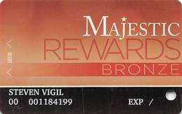 Majestic Star Casino - Gary, IN USA - Slot Card - Copyright 2014 - Casino Cards
