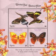 Nevis   2018    Fauna  Butterflies  201901 - St.Kitts And Nevis ( 1983-...)