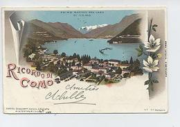 Primo Bacino Del Lago Di Como-Ricordo Di Como. - Como