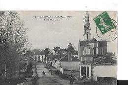 LA MOTHE ACHARDB N 64   ROUTE DE LA ROCHE  PERSONNAGES  DEPT 85 - La Mothe Achard