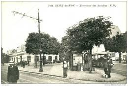 -  SAINT-MANDE  (94 ) - LE TERMINUS DES AUTOBUS -    Bb-224 - Saint Mande