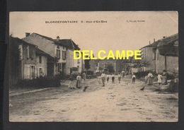 DD / 70 HAUTE SAÔNE / BLONDEFONTAINE / HABITANTS POSANT RUE D' EN-BAS / ANIMÉE - Frankreich