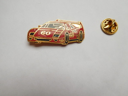 Superbe Pin's En EGF , Auto Ferrari , Carburant Agip - Ferrari