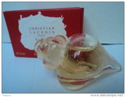 """CHRISTIAN LACROIX """"  EAU FLORALE""""  MINI  EDT   5  ML  LIRE  ET VOIR !! - Miniatures Femmes (avec Boite)"""
