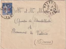 """ESC 90c Paix FM Chantier De Jeunesse N°17 """"Mistral"""" Hyères 1941 - 1921-1960: Periodo Moderno"""