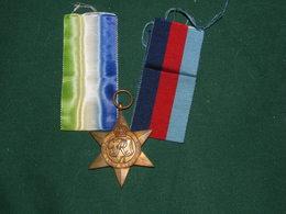 THE 1939 - 1945 STAR  , ATLANTIC STAR - Grande-Bretagne