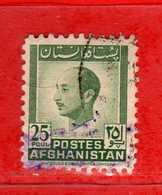 (Us.3) AFGHANISTAN °-1951 - Série Courante.Yvert. 360 . Usato.  Vedi Descrizione - Afghanistan