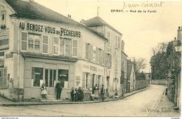 """SUPERBE EPINAY SOUS SENART (91) - """"AU RENDEZ-VOUS DES PECHEURS"""" En 1911 Bb238 - Epinay Sous Senart"""