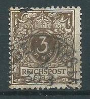 Timbre Allemagne 1880 - Oblitérés