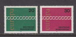 Germany MNH Michel Nr 675/76 From 1971 / Catw 0.80 EUR - Ongebruikt