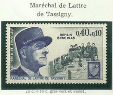FRANCE - 1970 - MARÉCHAL DE LATTRE DE TASSIGNY - YT N° 1639 - TIMBRE NEUF** - Frankreich