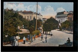 ROMANIA Giurgiu Piata Carol Ca 1915 OLD POSTCARD - Romania