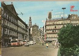Portugal ** & Postal, Porto, Liberdade Square And Clérigos Tower (1142) - Monuments