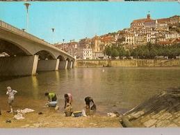 Portugal ** & Postal, Coimbra, Washerwomen At Mondego River Bridge, Partial View (1363) - Customs