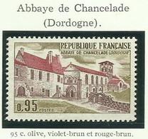 FRANCE - 1970 - ABBAYE DE CHANCELADE - YT N° 1645 - TIMBRE NEUF** - Frankreich