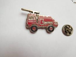 Beau Pin's En Zamac , Camion Sapeurs Pompiers - Bomberos