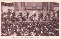 CPA Belgique - Un Tirage De La Loterie Coloniale Au Palais Des Beaux-Arts De Bruxelles - Evénements