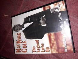 Dvd  Nat King Cole Te Legend Lives On - Concert Et Musique