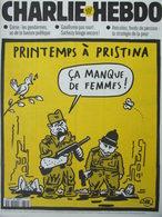 CHARLIE HEBDO N°359 (5 Mai 1999) Couverture De Wilem - Printemps à Pristina - Andere