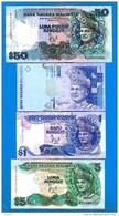 Malaysie  50  Ringgit   +  3  Billets - Malaysia