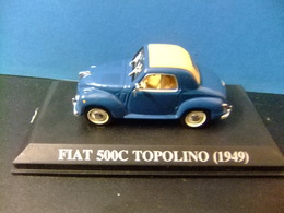 FIAT 500 C TOPOLINO 1949 - Carros