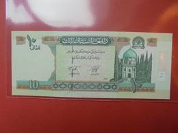 AFGHANISTAN 10 AFGHANIS 2002-12 PEU CIRCULER/NEUF - Afghanistan