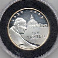 Polonia - 2005 - 100 Zloty - Papa Wojtyla - Argento - Proof - In Capsula Con Custodia - Vedi Foto - (MW2347) - Polonia