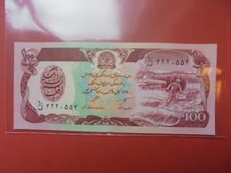 AFGHANISTAN 100 AFGHANIS 1979-91 PEU CIRCULER/NEUF - Afghanistan
