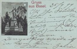 Suisse - Gruss Aus Basel - St-Jakob-Denkmal - Other