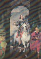 Cp , ANGLETERRE , WARWICK CASTLE, KING CHARLES I , Vandyke - Warwick