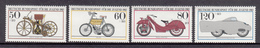 Germany MNH Michel Nr 1168/71 From 1983 / Catw 5.50 EUR - [7] West-Duitsland