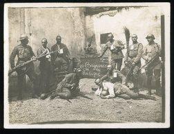 Niederlahnstein Am Rhein 1919 Foto  Les Bagnards De La Musique 77e Régiment D'infanterie Juin 9x12cm - Guerra, Militares