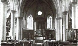 ROSéE Intérieur De L ' église  Carte Photo. - Florennes