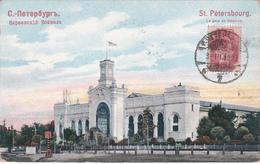 CPA  Russie - St. Petersbourg - La Gare De Varsovie  - 1908 - Roumanie