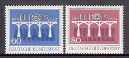 Germany MNH Michel Nr 1210/11 From 1984 / Catw 3.20 EUR - [7] West-Duitsland