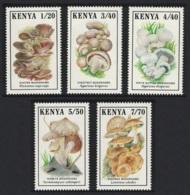 Kenya Mushrooms Fungi 5v MNH SG#506-510 - Kenia (1963-...)