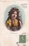 CPA  Hawaiian Girl - Aloha Nui From Hawaiian Islands - 1903 - Honolulu