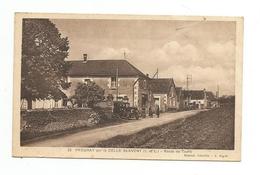 CPA Prouray Par La Celle St Avent-Route De Tours-RARE - Autres Communes