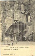 RHISNES  Grotte N.D. De Lourdes à Rhisnes. - La Bruyère