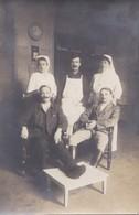 CARTE PHOTO  TOULOUSE  HOPITAL MILITAIRE  N°15 INFIRMIÈRE BLESSÉS POILUS GUERRE 1914 1918   PRIX FIXE - Toulouse