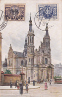 CPA  Warszawa - Kościól Zbawiciela - 1923 - Pologne