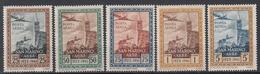 SAN MARINO - Michel - 1942 - Nr 251/55 (ZEER MOOI) - MH* - Poste Aérienne