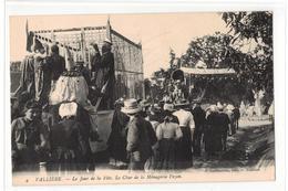 Vallière- Un Jour De Fête-Le Char De La MénageriePezon,F. Guillaumin,no 4 - Andere Gemeenten