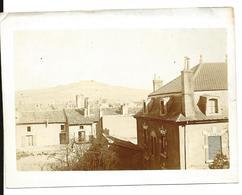 PONT A MOUSSON Meurthe Et Moselle Photo Ancienne Vue Sur Mousson Prise De La Rue Thiers Voir Verso - Places