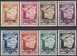SAN MARINO - Michel - 1943 - Nr 284/91 (ZEER MOOI) - MH* - Poste Aérienne