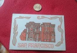 POSTAL POST CARD CARTE POSTALE PUBLICITARIA O SIMIL SAN FRANCISCO USA ARCHITECTURE UNITED STATES ARQUITECTURA VER FOTOS - Estados Unidos